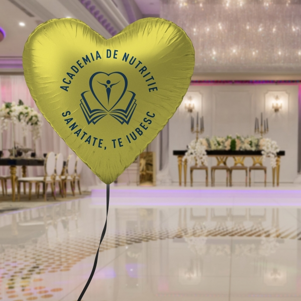 Balon heliu Brasov folie forma stea personalizat logo sau mesaj diferite culori