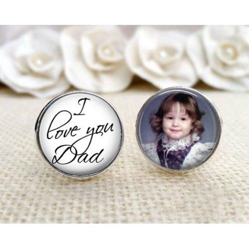 Butoni personalizati rotund cu poza nunta sau botez