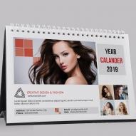 Calendar de birou personalizat 12 file 2019 (11)