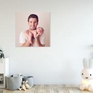 Tablou imprimat personalizat cu poza canvas - 40 x 40 cm