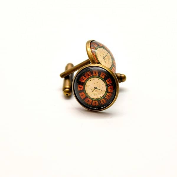 butoni personalizati vintage ceas brasov