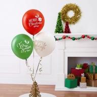 Baloane cu heliu personalizate Craciun