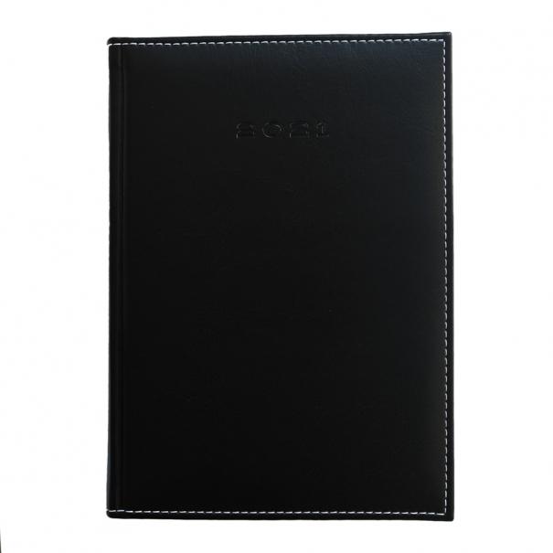 Agenda A5 Delux negru personalizata brasov