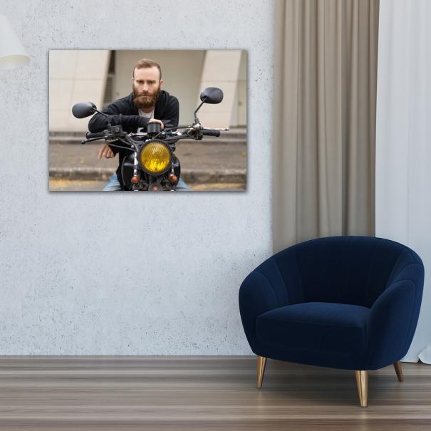 tablou personalizat 50x70 cadou pentu el sot sau iubit