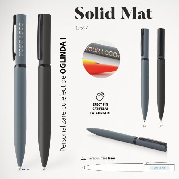 Pix metalic de lux solid mat