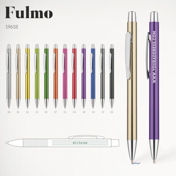 Pix metalic ieftin personalizat fulmo