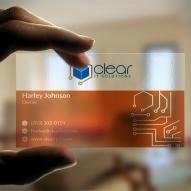carti de vizita moderne transparente