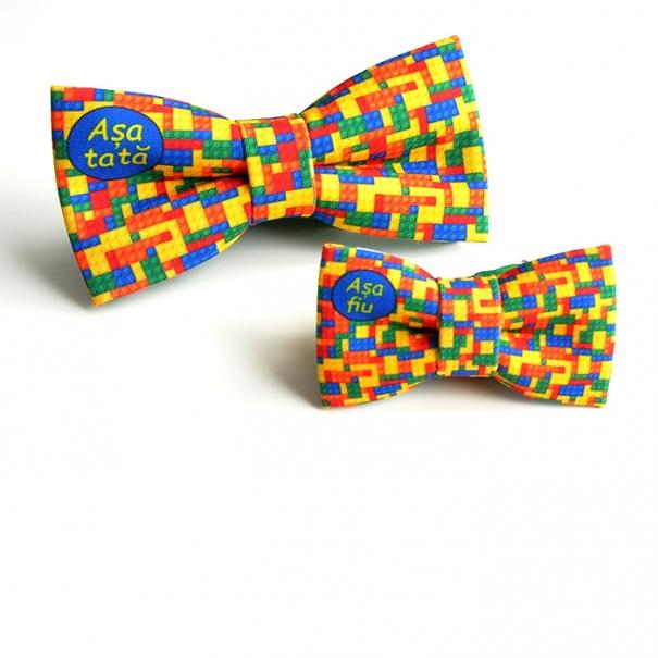 Papion personalizat Lego