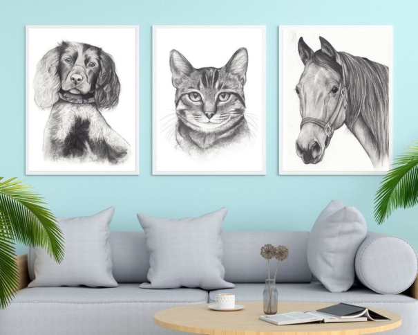 portret animale companie