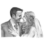 portret nunta cadou casa noua