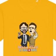 Tricouri personalizate cu Bella Ciao La Casa DE Papel
