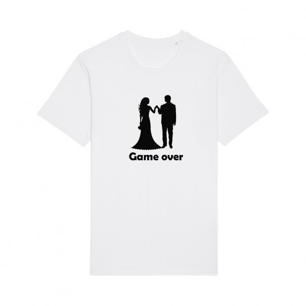Tricouri personalizate cu GAME OVER