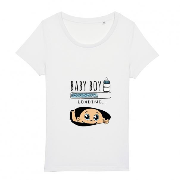 Tricouri personalizate cu baby boy loading