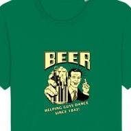 Tricouri personalizate cu mesaj beer pentru barbati