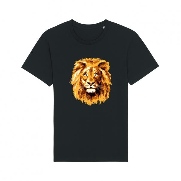 Tricouri personalizate cu cap de leu pentru barbati