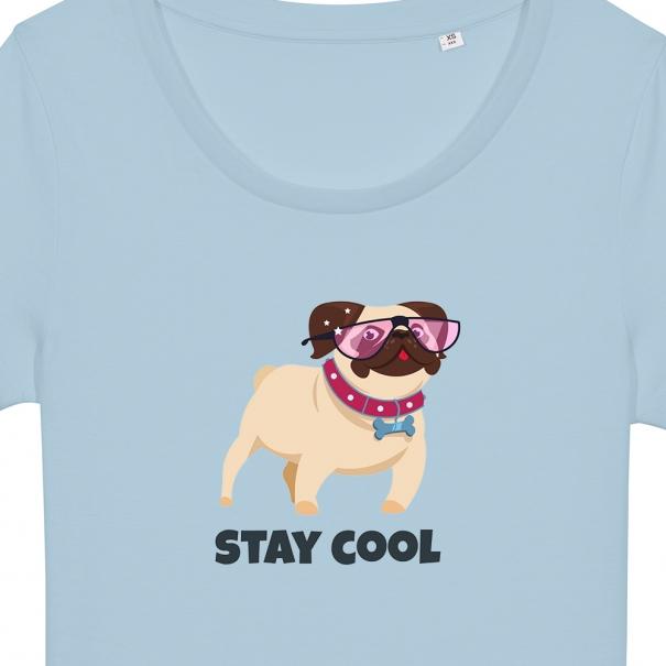 Tricouri personalizate - catelus stay cool