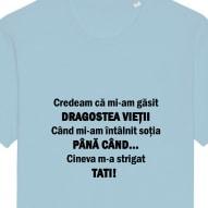Tricouri personalizate cu mesaj credeam ca mi-am gasit pentru barbati