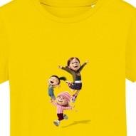 Tricouri personalizate cu Despicable me fetele