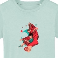 Tricouri personalizate cu fetita si tigru