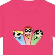 Tricouri personalizate cu fetitele powerpuff