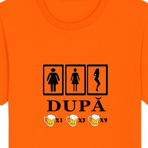 Tricouri personalizate cu halba bere si 3 fete