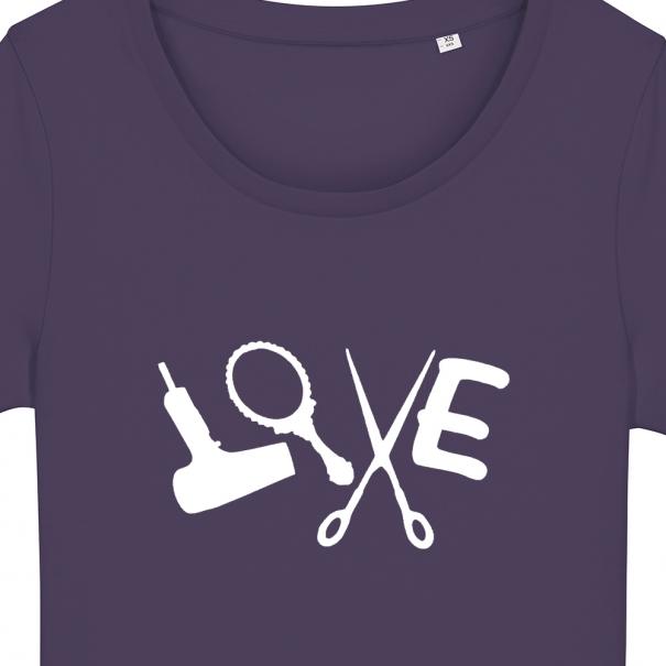 Tricouri personalizate cu love stilist