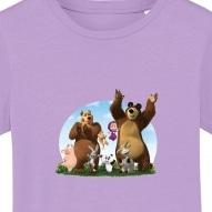 Tricouri personalizate cu Masha si prietenii