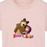 Tricouri personalizate cu Masha si ursul