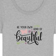 Tricouri personalizate cu mesaj be your own kind