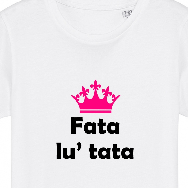 Tricouri personalizate cu mesaj fata lu tata