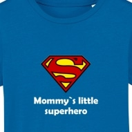 Tricouri personalizate cu mesaj mommy little superhero