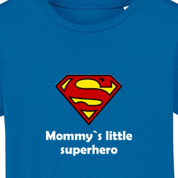 Tricouri personalizate cu mesaj mommy little superhero