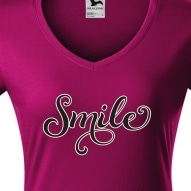 Tricouri personalizate cu mesaj smile