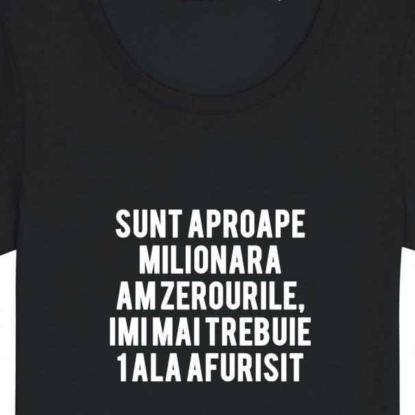 Tricouri personalizate cu mesaj sunt aproape milionara