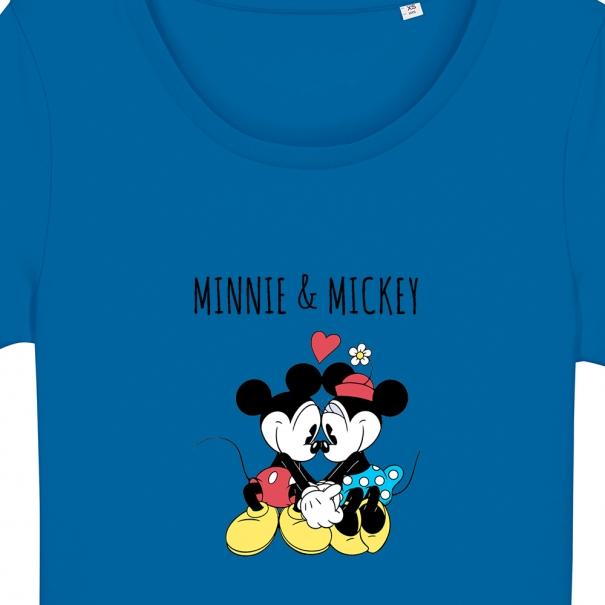 Tricouri personalizate cu minnie & mickey