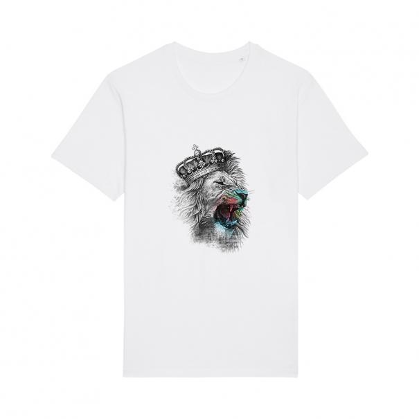 Tricouri personalizate cu regele leu