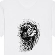 Tricouri personalizate cu urlet leu