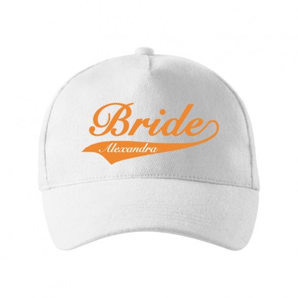 Sepci personalizate unisex cu bride si nume