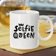 Cana personalizata cu mesaj selfie queen