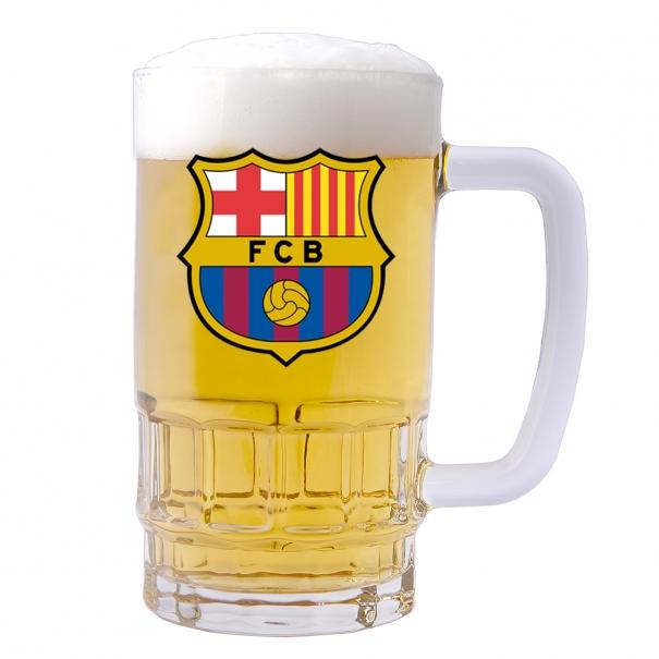 Halba personalizata cu sigla Barcelona