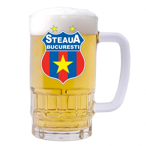 Halba personalizata cu sigla Steaua