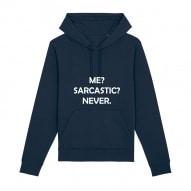 Hanorac unisex personalizat cu mesaj me sarcastic