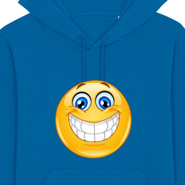 Hanorac unisex personalizat cu mesaj smile emoticon
