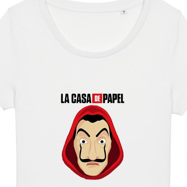 Tricouri personalizate cu La Casa De Papel