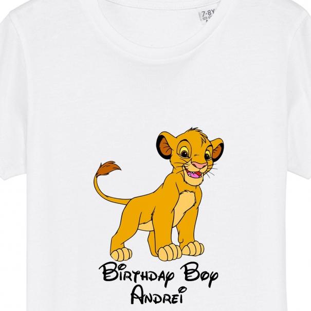 tricou birthday boy