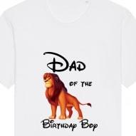 tricou dad of the birthday boy