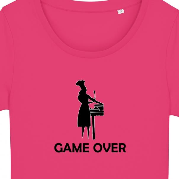 Tricouri personalizate cu mesaj GAME OVER