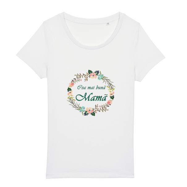Tricouri personalizate cu mesaj cea mai buna mama