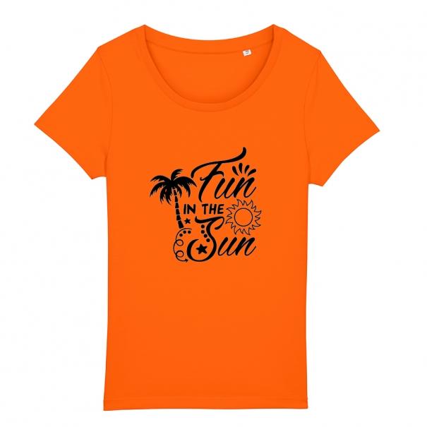 Tricouri personalizate cu mesaj fun in the sun