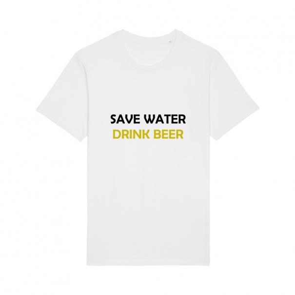 Tricouri personalizate cu mesaj save water